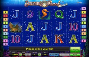 Новые игры от Вулкана: Dolphin's Pearl Deluxe